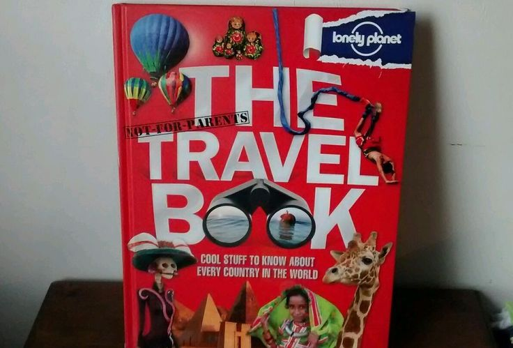 """The Lonely Planet """"Not For Parents"""" Travel Book"""