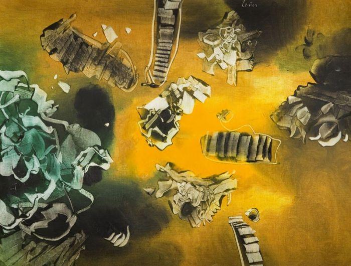 Alfred Lenica - Kompozycja, 1960 r.