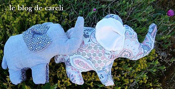 Tuto doudou éléphant - Careli