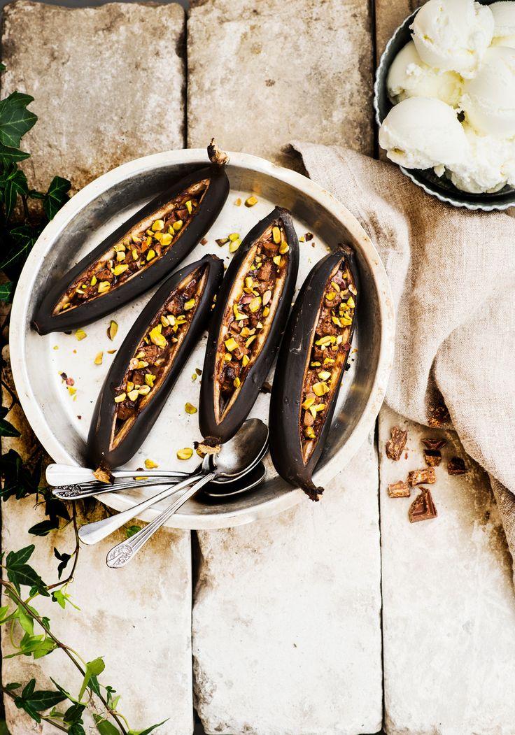 Grillattu banaani | K-ruoka #grillaus