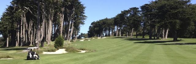 The 10th hole at Presidio Golf Course