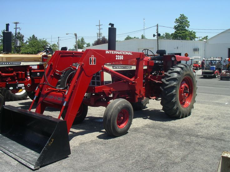 International 656 Tractor With Loader : Ih hydro with no loader red power round up