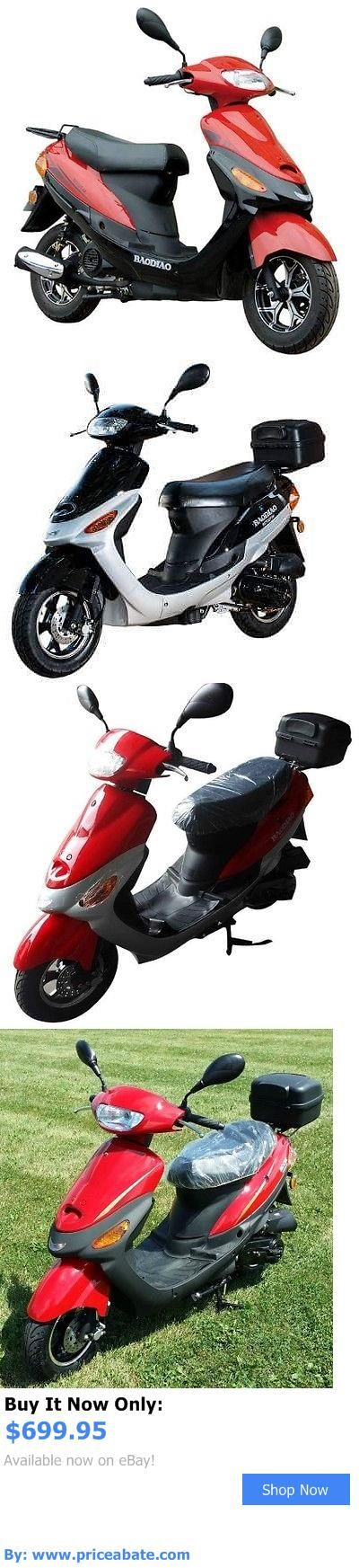 motorcycles And scooters: 50Cc 4 Stroke Boom Moped Scooter BUY IT NOW ONLY: $699.95 #priceabatemotorcyclesAndscooters OR #priceabate