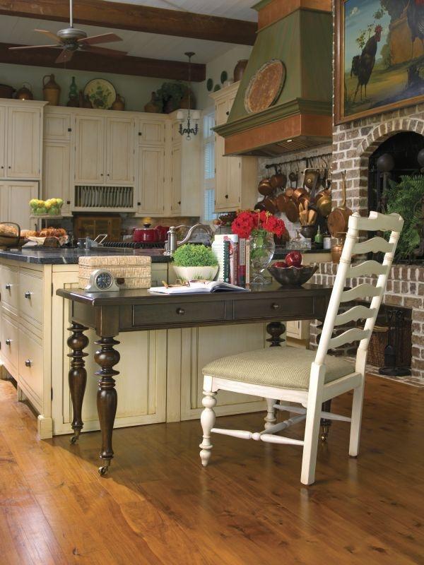 Marvelous Universal Furniture Paula Deen Home Recipe Writing Desk