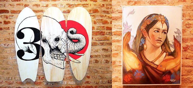 Very nice posca inspiration- Posca Uçsana | Milk Gallery & Design Store