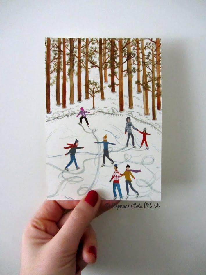 The 20 day Postcard Project by Stephanie Cole Design