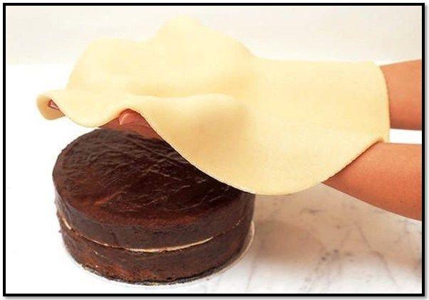Decoracion De Tortas Web Mazapán Mazapan Receta Decorar Tartas