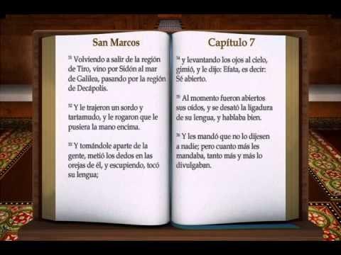 "LA BIBLIA "" SAN MARCOS "" COMPLETO REINA VALERA NUEVO TESTAMENTO - YouTube"