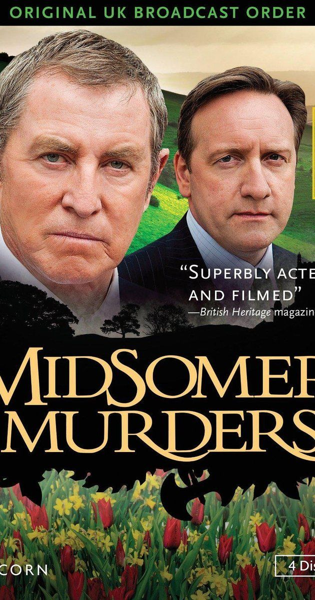 Created by Caroline Graham.  With John Nettles, Jane Wymark, Barry Jackson, Jason Hughes. A veteran DCI and his young sergeant investigate murders around the regional community of Midsomer County.