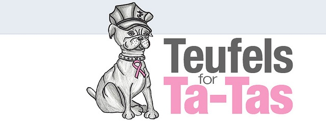 """Teufels for Ta-Tas"" — Join ""Devil Dogs"" in the fight against breast cancer"