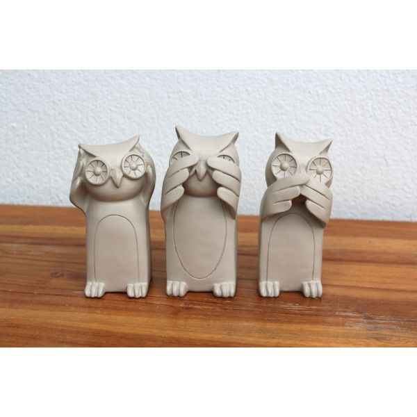 Three Wise Owls - Homewares Online