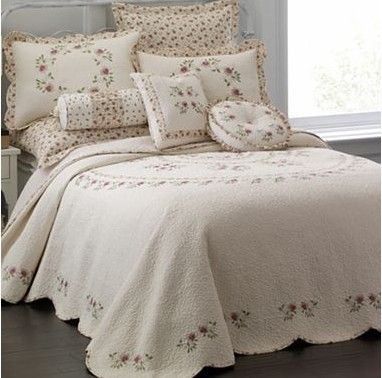 Lynette Cotton Bedspread And Accessories From Jcpenney