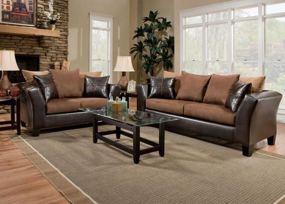 The Lanzo Chocolate Sectional Will Give Any Living Room An Upscale Designer Feel This