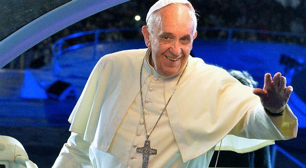 """Papa Francisco: """"Internet es un regalo de Dios"""". Foto: AFP."""