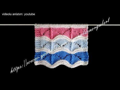 bebek battaniyeleri için çok güzel bir örnek. Ayrıca bu örgü modeli ile battaniye haricinde değişikl bebek örgüleri örülebilir.