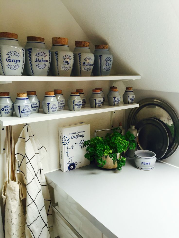 Hjørnet i mit lille køkken 😍