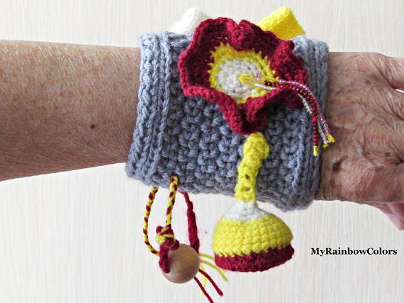 Twiddle Wristband Fidget Muff Sensory Blanket Alzheimer