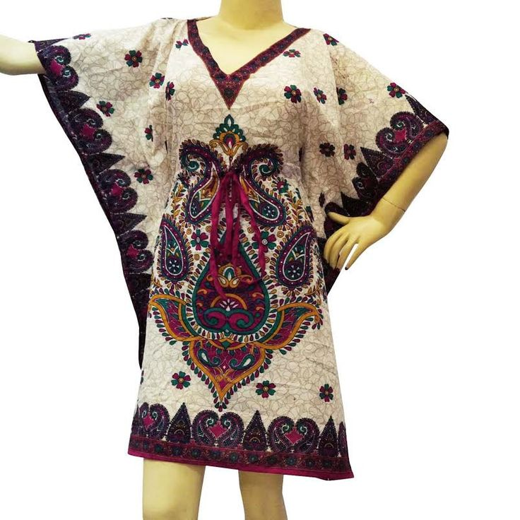 Kafthan Caftan FREE or PLUS SIZE  Bohemian  Free Size Women  Capes Kaftan Hippie flowers Maternity Caftan Robes by colorfuloutlet on Etsy