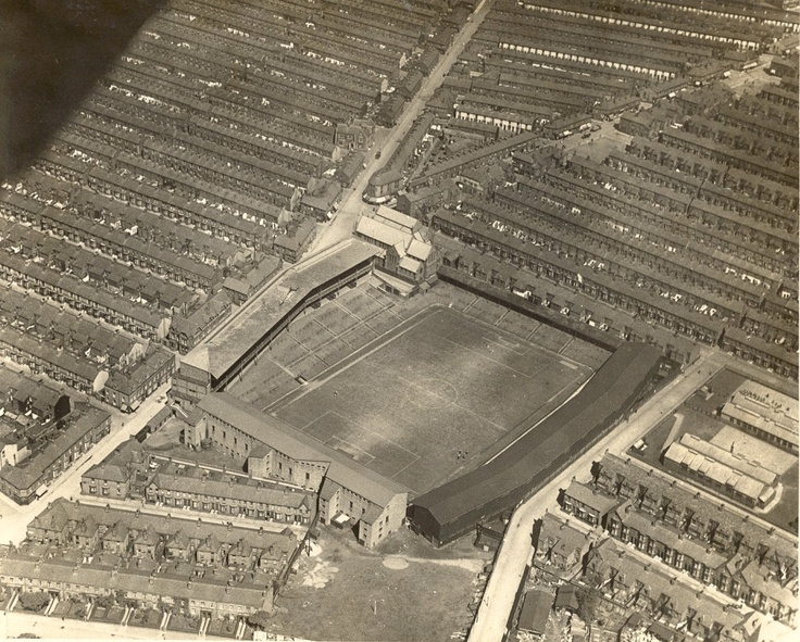 Everton, Goodison Park 1922. Stunning.