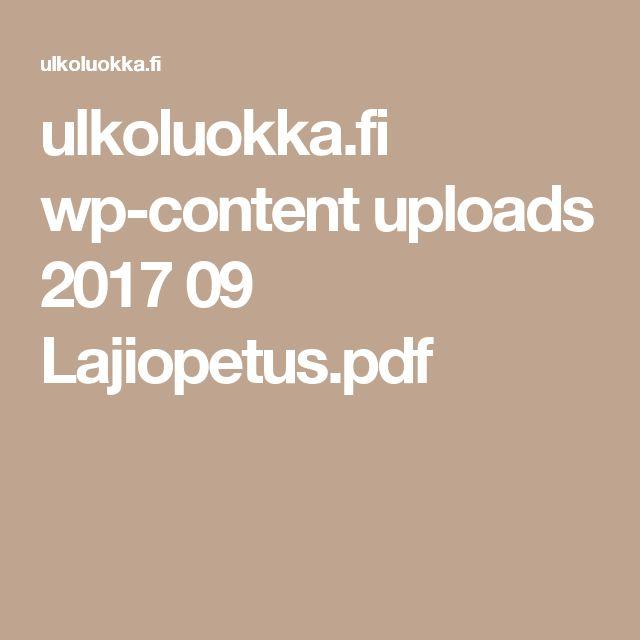 ulkoluokka.fi wp-content uploads 2017 09 Lajiopetus.pdf