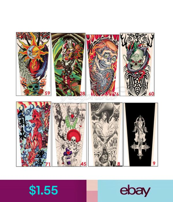 Generic Tattoo For Men Or Women Small: Unbrand/Generic Temporary Tattoos Health & Beauty