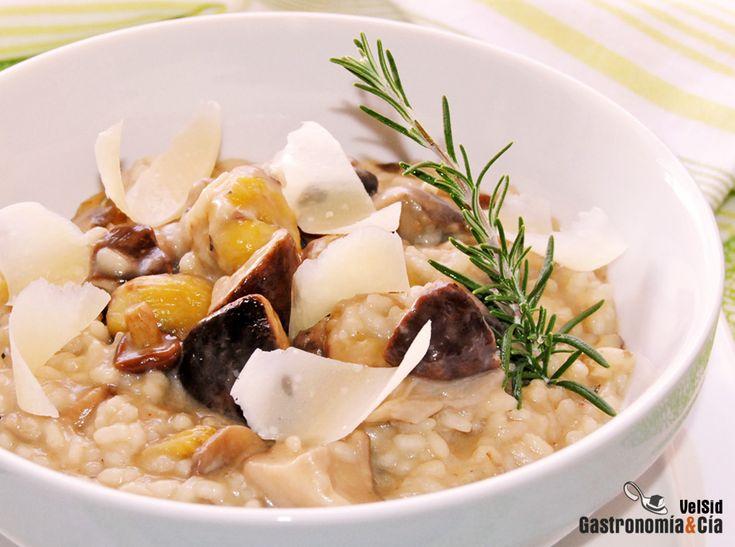 36 best images about recetas setas mushrooms recipes on - Rissotto de setas ...