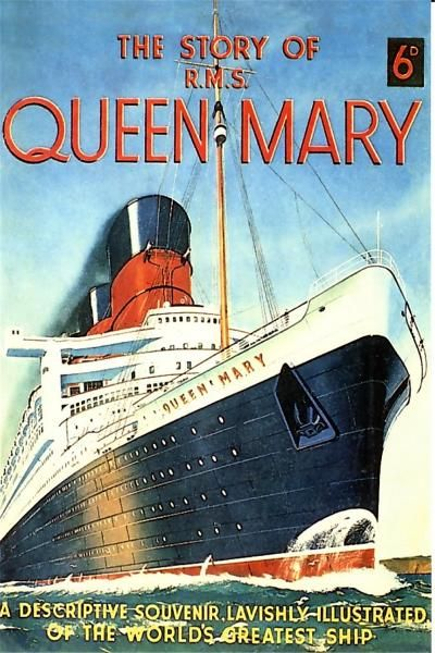 Postcards of the Past - Vintage Postcards of Ocean Liners