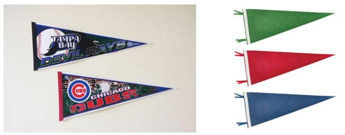 Custom Pennants Your Ultimate Choice To Show Off School Spirit Www Custommadeflags Com Custom Pennants Custom Pennants Custom Pennant Flags Pennant Banners