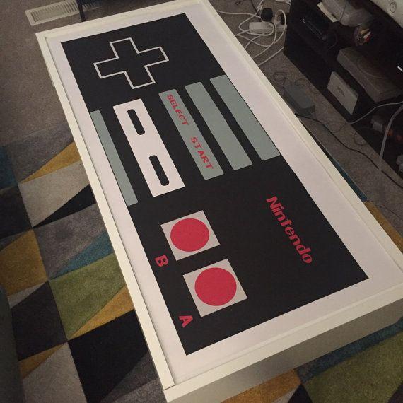 Nintendo NES Controller Poster by MerakiBottegaCo on Etsy