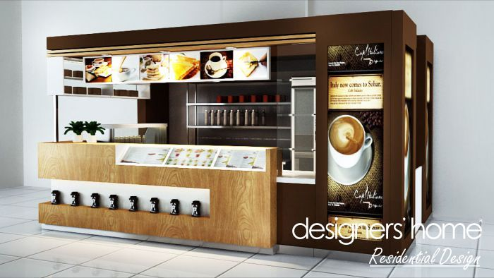 Malaysia interior design wd coffee kiosk 700 394 for Exterior standalone retail