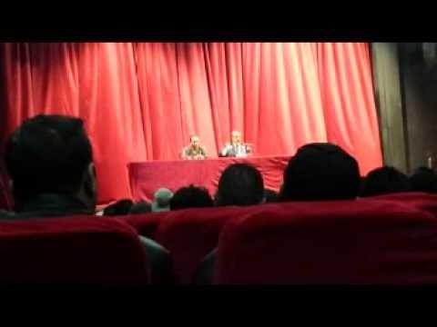 conference de Said Sadi au café littéraire (bejaia)part 2/3
