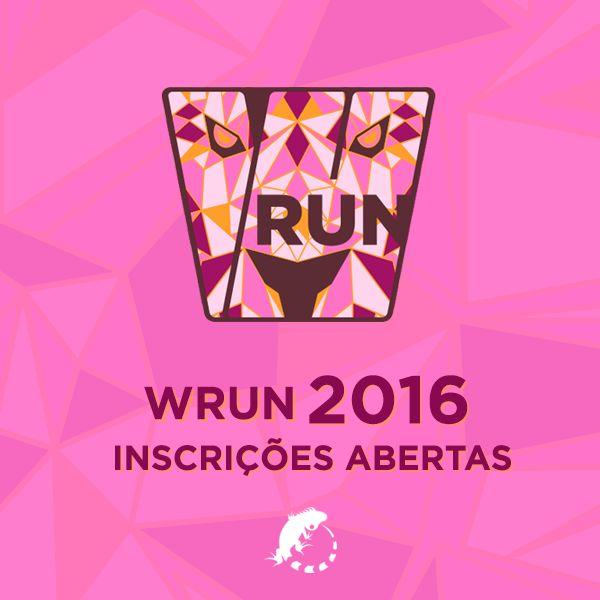 WRUN 2016  www.corridawrun.com.br #CORRIDAWRUN