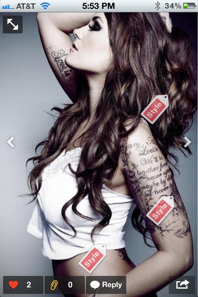 Brown! :)   Hair   Skull sleeve tattoos, Beautiful tattoos ...