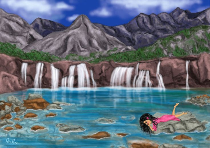 Fairy Pools, Scotland.