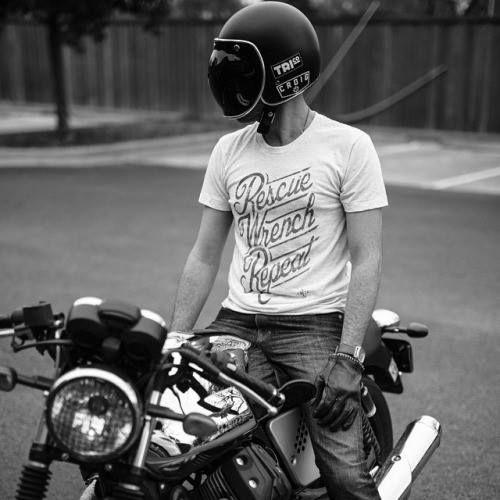 Motardsalafrancaisefr Helmets Bubble Bobber Cafe Racer