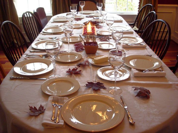 "108"" x 156"" Oval Tablecloth Havana Collection - Understated and simple for a modest holiday dinner"