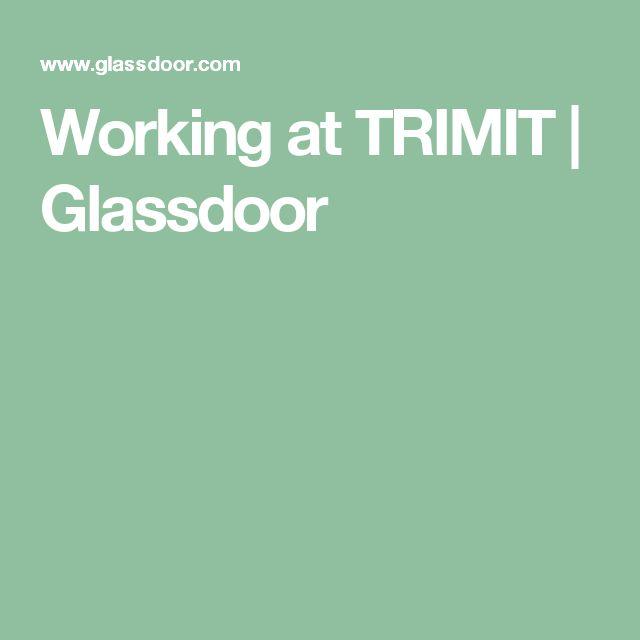 Working at TRIMIT | Glassdoor