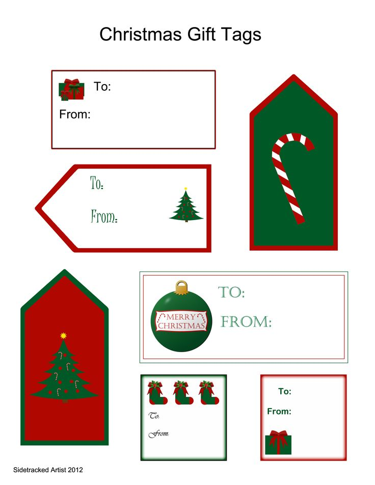 The 25+ best Christmas tag templates ideas on Pinterest - christmas tag template