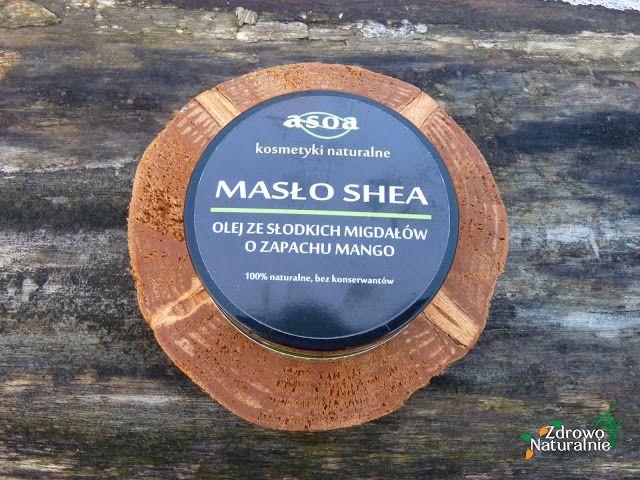 Asoa - Masło shea z olejem ze słodkich migdałów o zapachu mango