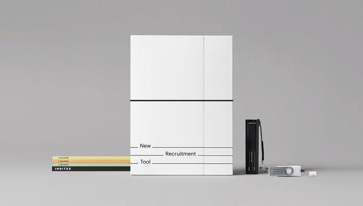 Inditex New Recruitment Tool by Mariano Fiore - Graphic Designer & ULTRAMARINA Central de Ideas  http://mindsparklemag.com/design/inditex-new-recruitment-tool/