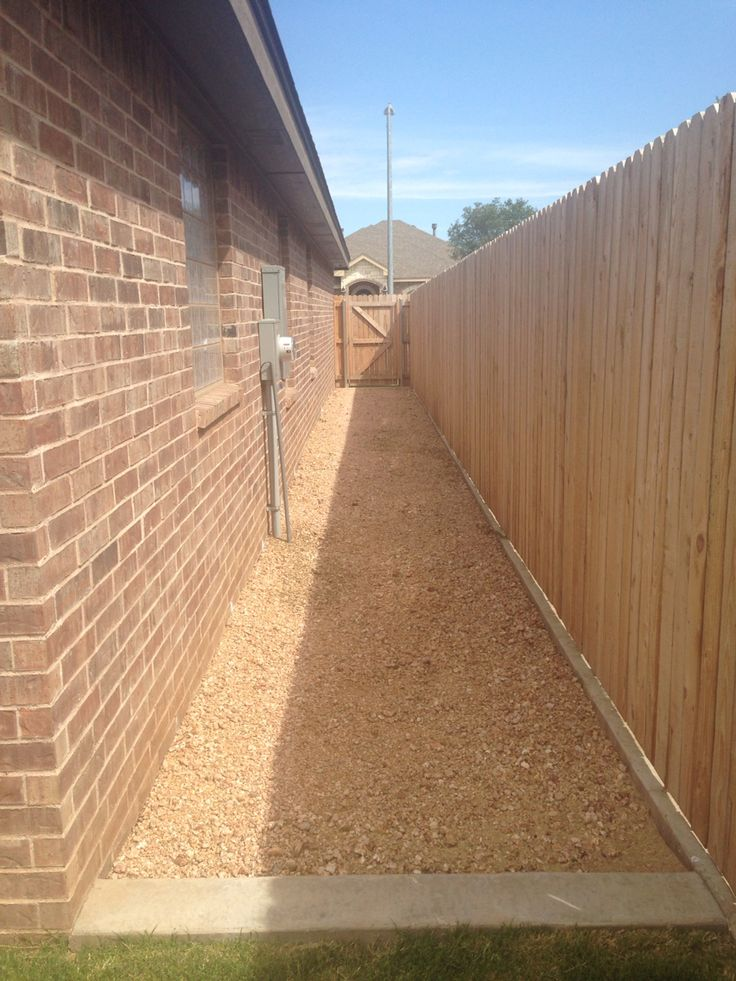 Our Attached Side Yard Perfect For A Dog Run
