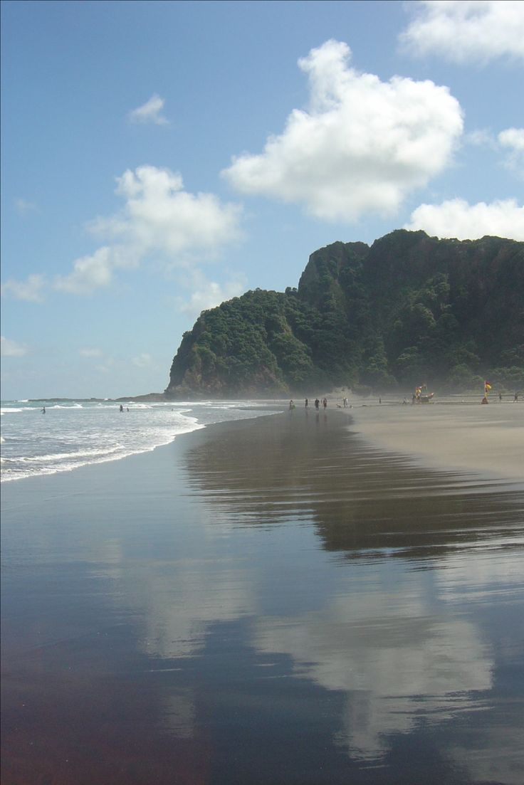 Karekare Beach, Auckland, New Zealand
