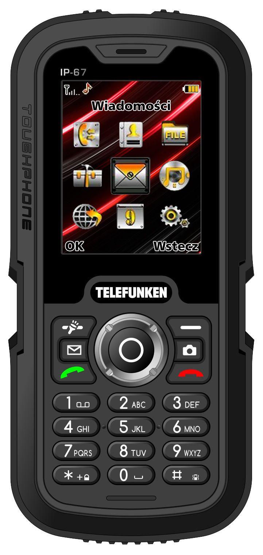 Telefunken TM800 Crusoe w całej okazałości :) Nasz kochany telefon do ciężkiej roboty...