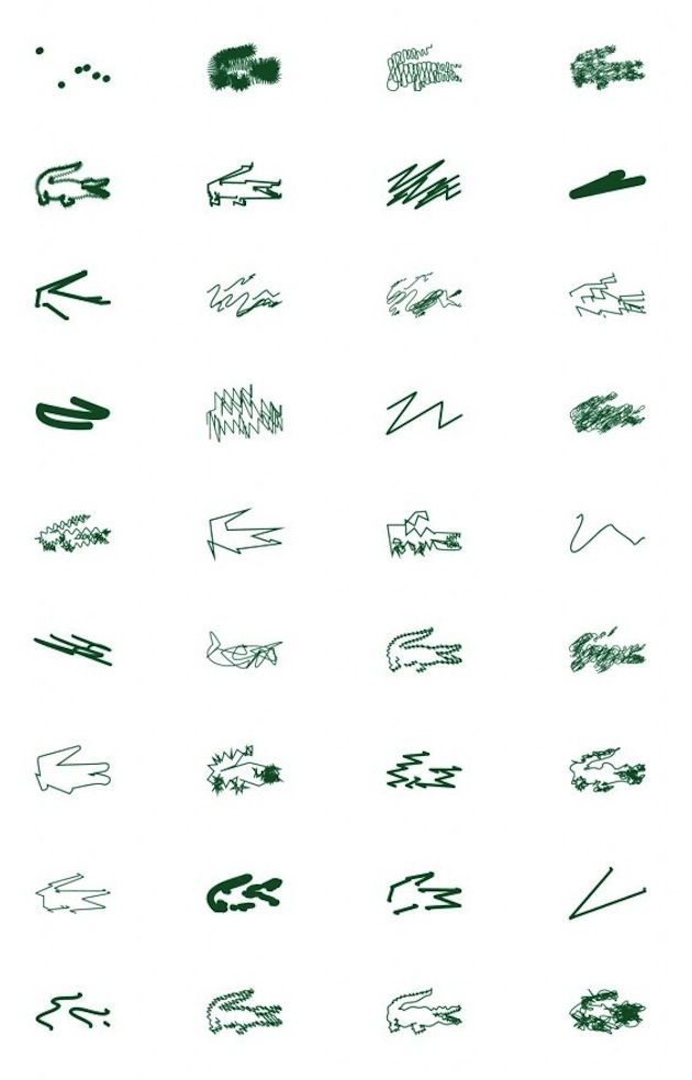 Peter Saville _ Lacoste _  Holiday Collector series