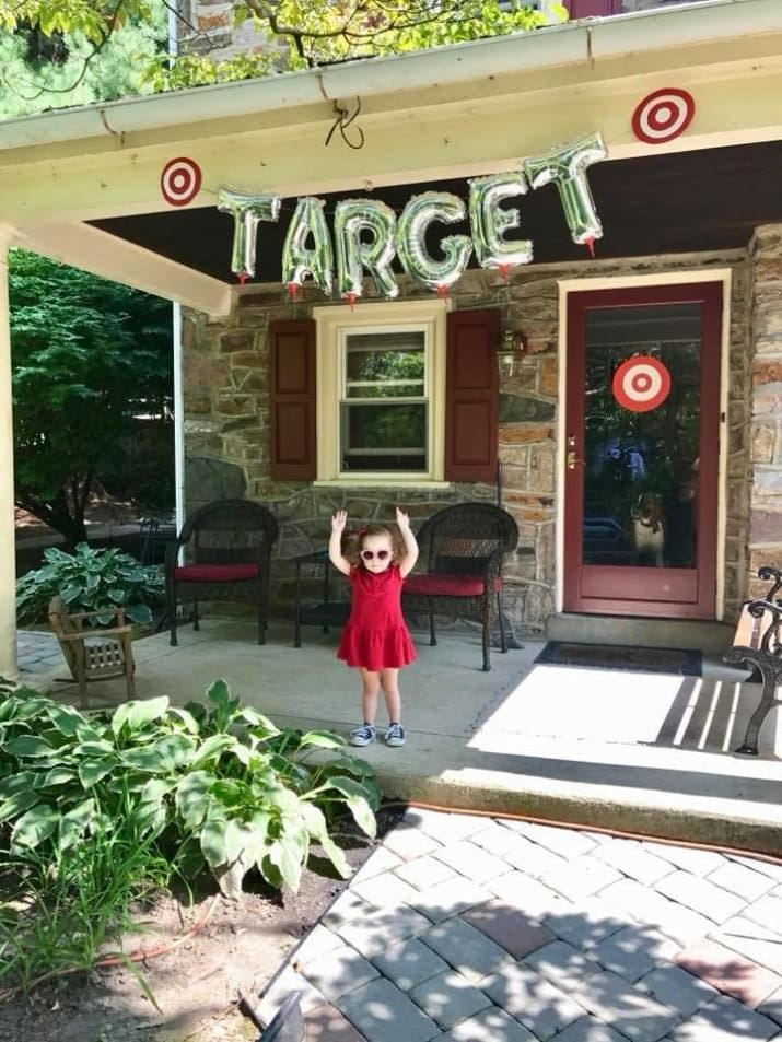 This 3-Year-Old Asked For An Epic Target-Themed Birthday Party And Her Parents DELIVERED