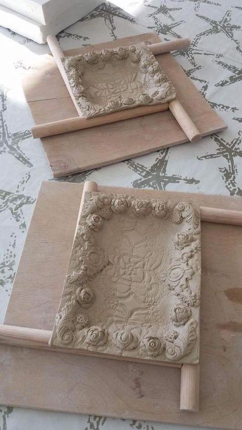 Love this adjustable DYI wooden dowel technique & decoration