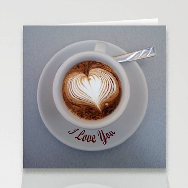 frothy love valentine's card by designed by ruth | notonthehighstreet.com