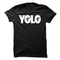 funny drunk YOLO shirt