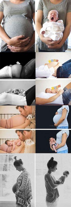 Zoom: Avant et après: le miracle de la vie