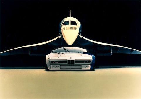 BMW M1 und Concorde